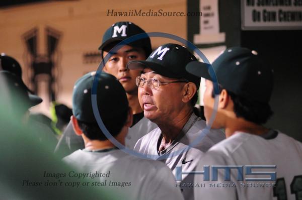 Mid-Pacific Baseball - Mil 5-14-14