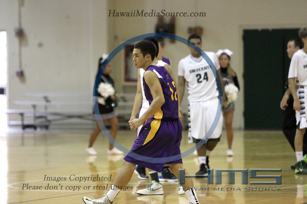 Hanalani Boys Basketball - UH 2-13-14
