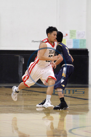Iolani VIAA Boys Basketball - Pun 1-4-14