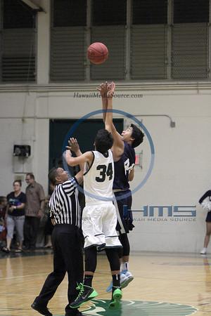 Kamehameha JV Boys Basketball - MPI 12-3-13