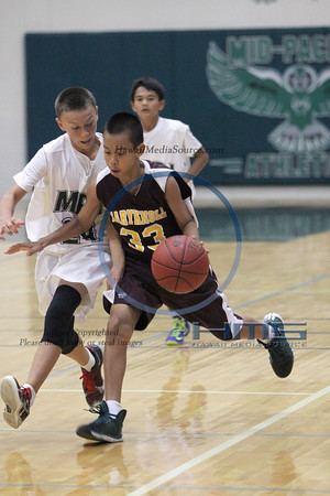 Mid Pacific Inter Boys Basketball - Mkn 12-3-13
