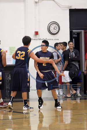 Punahou VIAA Boys Basketball - Iol 1-4-14