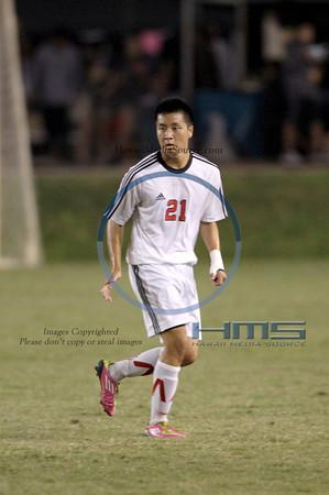 Iolani Boys Soccer - Pun 2-15-14