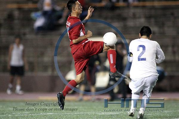 Kalani Boys Soccer - Kai 1-31-14