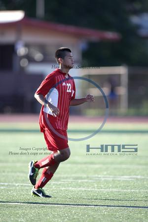 Kalani Boys Soccer - Kap 1-30-14