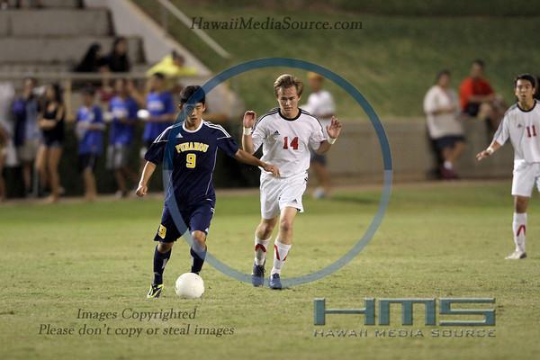 Punahou Boys Soccer - Iol 2-15-14