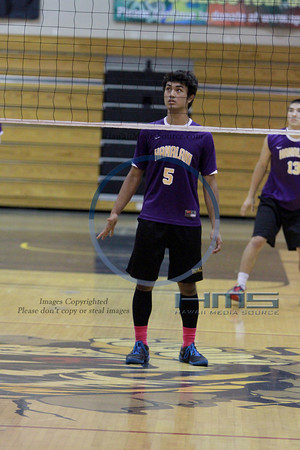 Hananlani Boys Volleyball - Sea 5-8-14