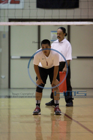 Ka'u Boys Volleyball - Aiea 5-8-14