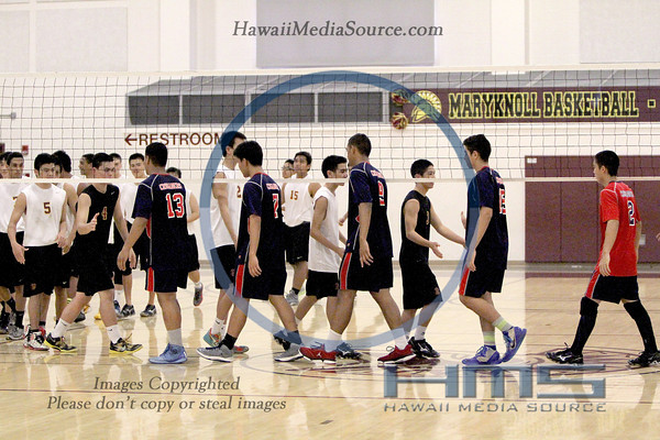 Maryknoll Boys Volleyball - STL 4-3-14