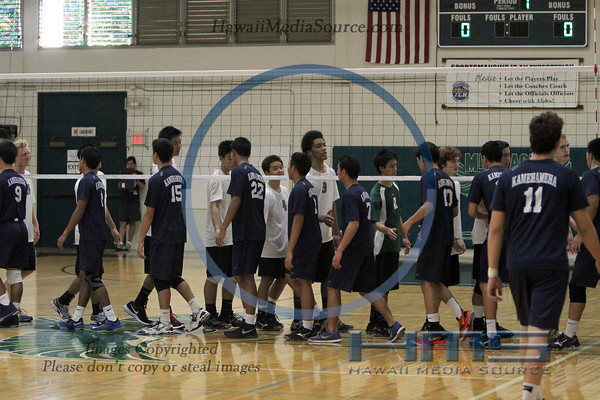 Mid Pacific Boys Volleyball - KS 3-25-14