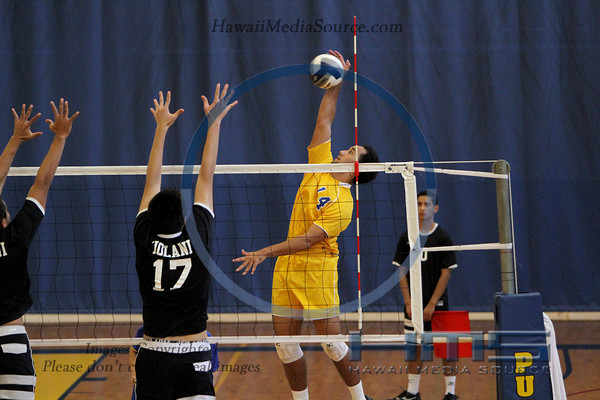 Punahou Boys Volleyball - Iol 3-20-14