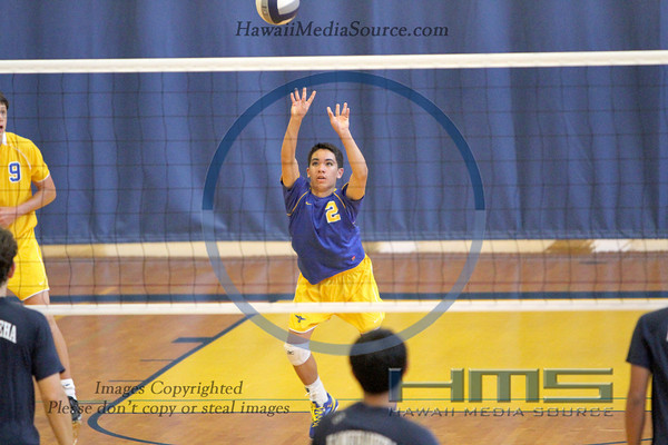 Punahou Boys Volleyball - KS 4-1-14