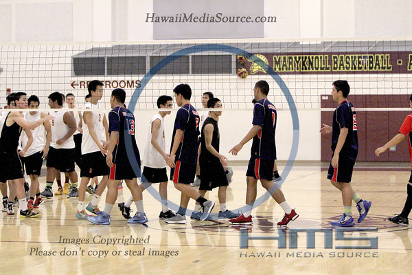 Saint Louis Boys Volleyball - Mar 4-3-14