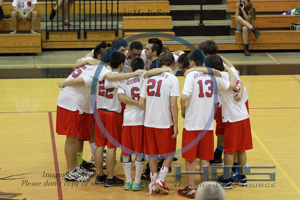Seabury Hall Boys Volleyball - Han 5-8-14