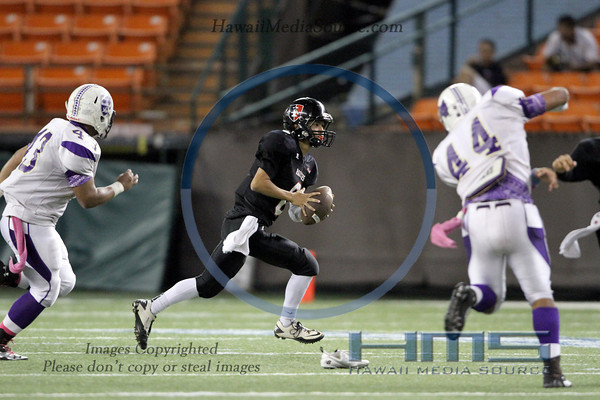 Iolani Football - Dam 10-25-13