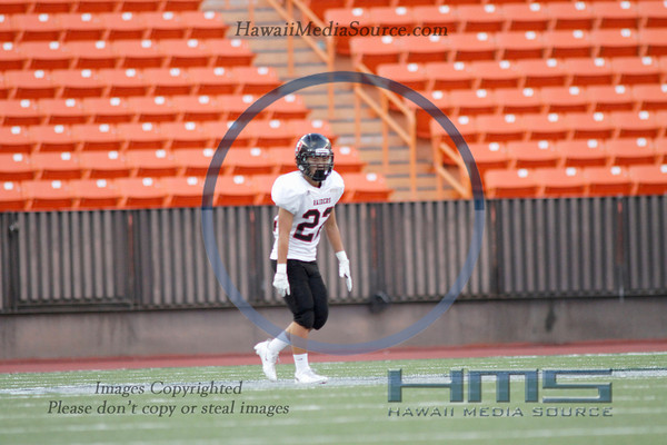 Iolani Football - P5 9-4-13