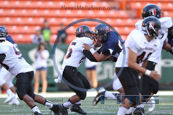 Iolani Football - STL 9-14-13