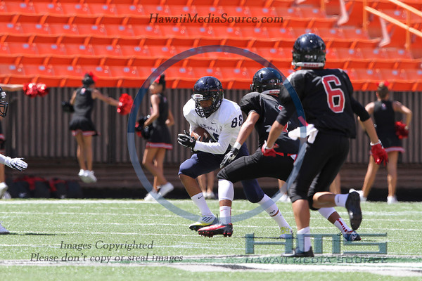 Kamehameha Intermediate Football - Iol 9-7-13