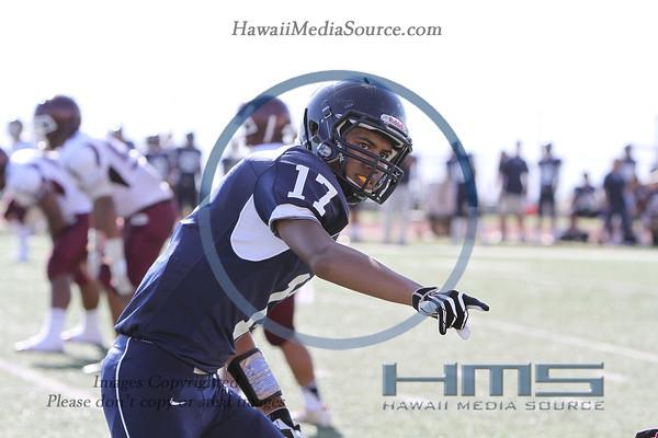 Kamehameha JV Football - Far 8-16-13