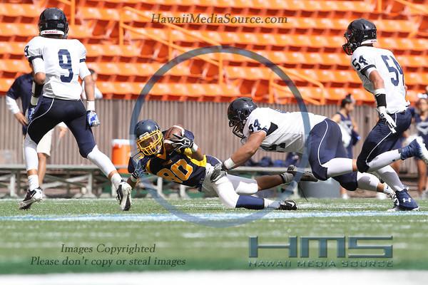 Kamehameha JV Football - Pun 9-14-13