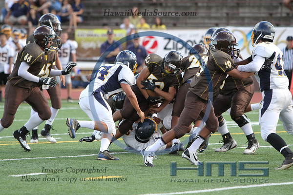 Mililani JV Football - 8-15-13