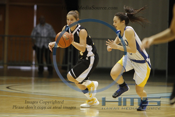 Hilo Girls Basketball - Mili 2-15-15
