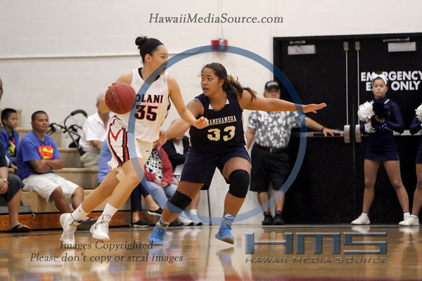 Iolani Girls Basketball - KS 1-4-14