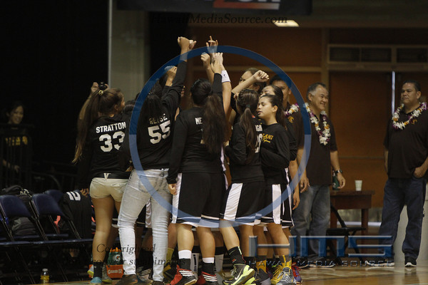 Mililani Girls Basketball - Hilo 2-15-14
