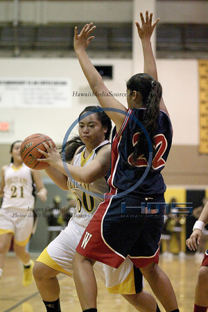 Mililani Girls JV Basketball - Wai 1-3-14