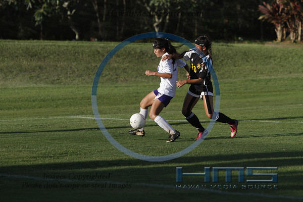 Pearl City Girls Soccer - Mil 2-7-14