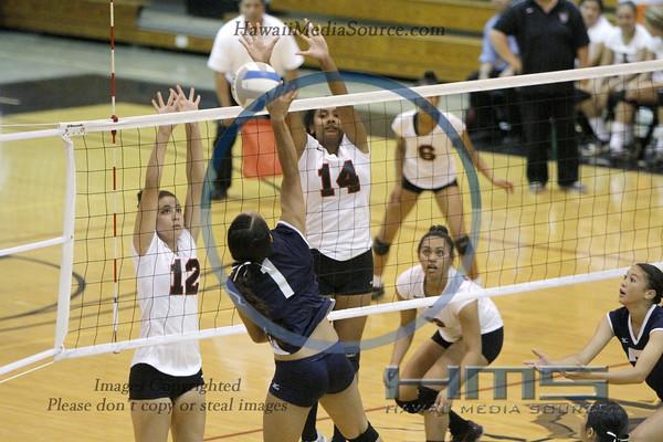 Radford Girls Volleyball - Wai 11-1-13