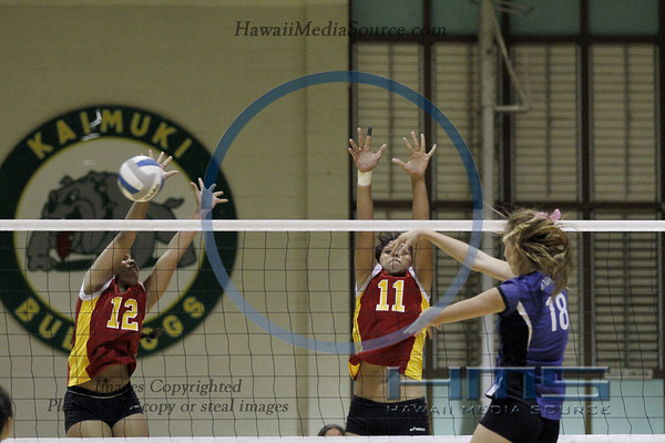 Roosevelt Girls Volleyball - HPA 10-31-13