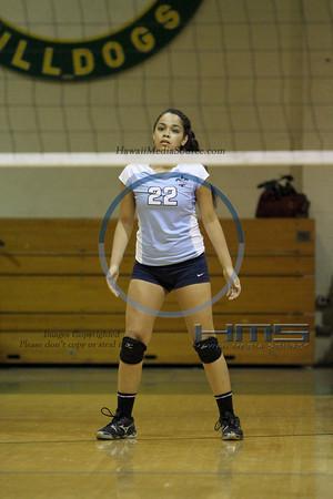Saint Francis Girls Volleyball - Sea 10-30-13