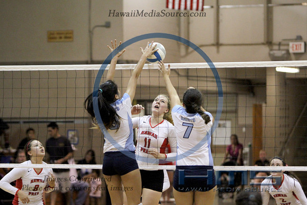 Saint Francis Girls Volleyball - HPA 10-31-13