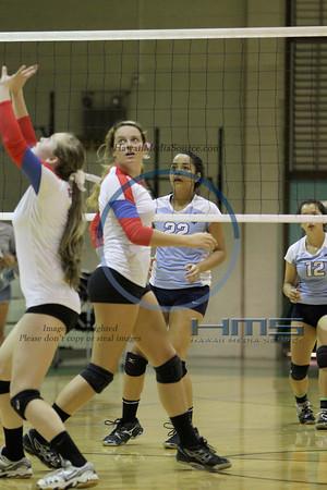 Seabury Hall Girls Volleyball - SF 10-30-13