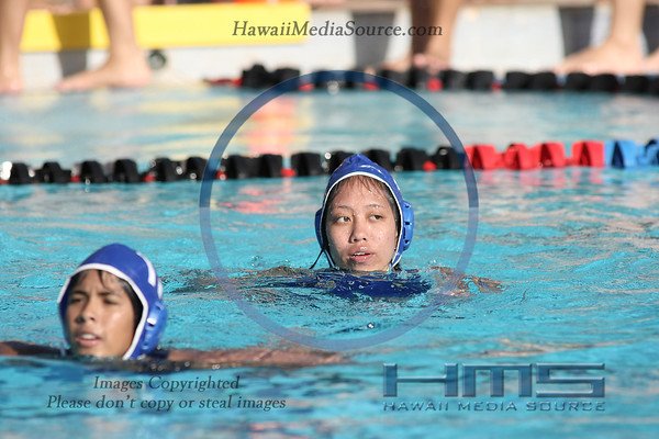 Moanalua Girls Water Polo - Wai 3-19-14
