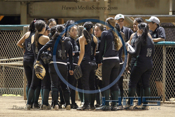 Mid Pacific Softball - Moa 5-6-14
