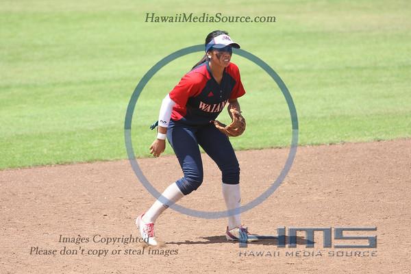 Waianae Softball - Lei 5-6-14