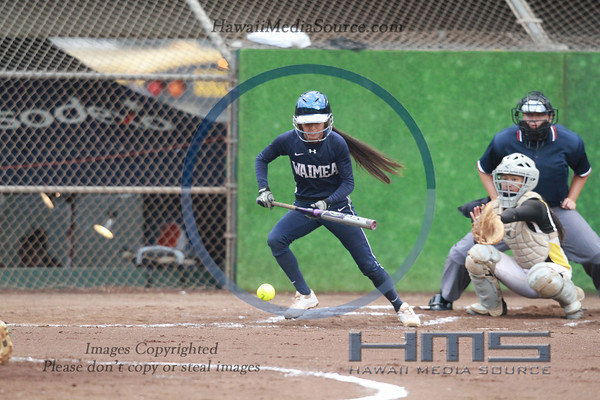 Waimea Softball - Nan 5-9-14