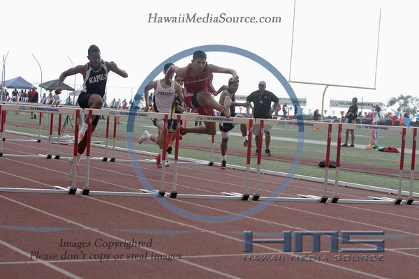 Boys 100m High Hurdles 5-9-14