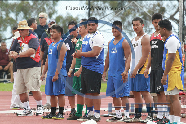 Boys State Discus 5-10-14