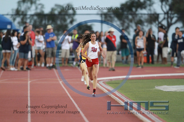 Girls State 3000m Run 5-10-14