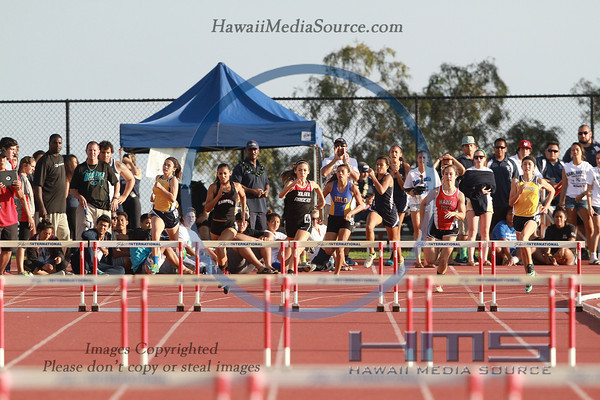 Girls State 300m High Hurdles 5-10-14