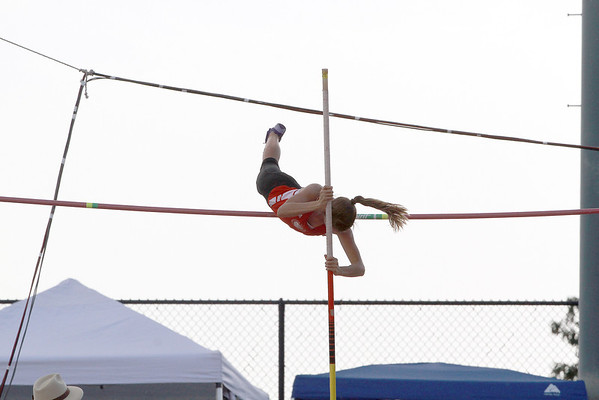 Girls State Pole Vault 5-10-14
