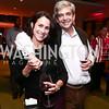 Susan Toffler, Luiz De Toledo. Photo by Tony Powell. Hope for Henry Celebrity Bowling Tournament. Pinstripes. October 27, 2015