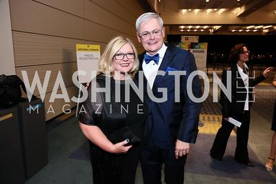 Gloria Dittus, Ben Dillon. Photo by Tony Powell. 2015 HRC Gala. Convention Center. October 3, 2015