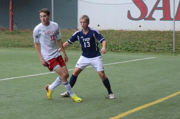 IAC Soccer Championship Georgetown Prep vs St Stephens St Agnes (10/31/2013)