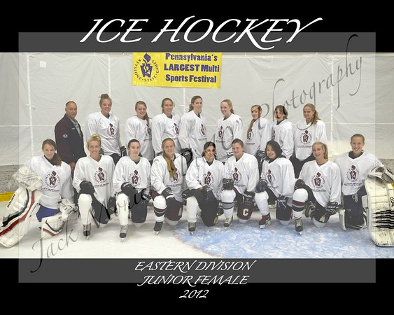 2012 ICE HOCKEY TEAM AND MEDALISTS