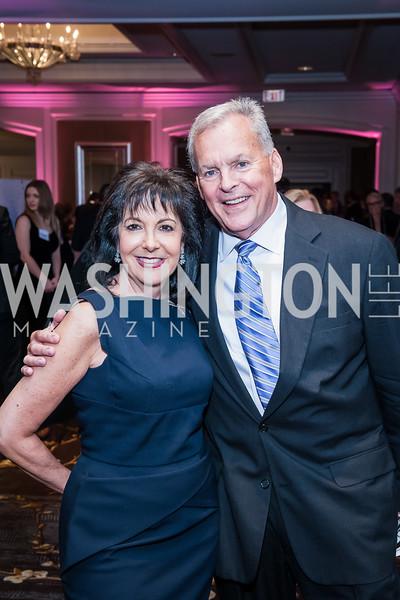 Liz Sara, Bill Boczany. Photo by Tony Powell. BGCGW ICON 15. Ritz Carlton Tysons. November 9, 2015