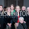 Jeanne Bidwell, Carolyn Petsche, Madeleine Caughey, Jayne Plank, Georgia Petsche, Kristy Clason, Teddy Hedrick. Photo by Tony Powell. BGCGW ICON 15. Ritz Carlton Tysons. November 9, 2015